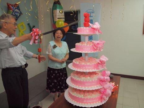 德淵企業35週年慶(集團連線同步慶祝)。
