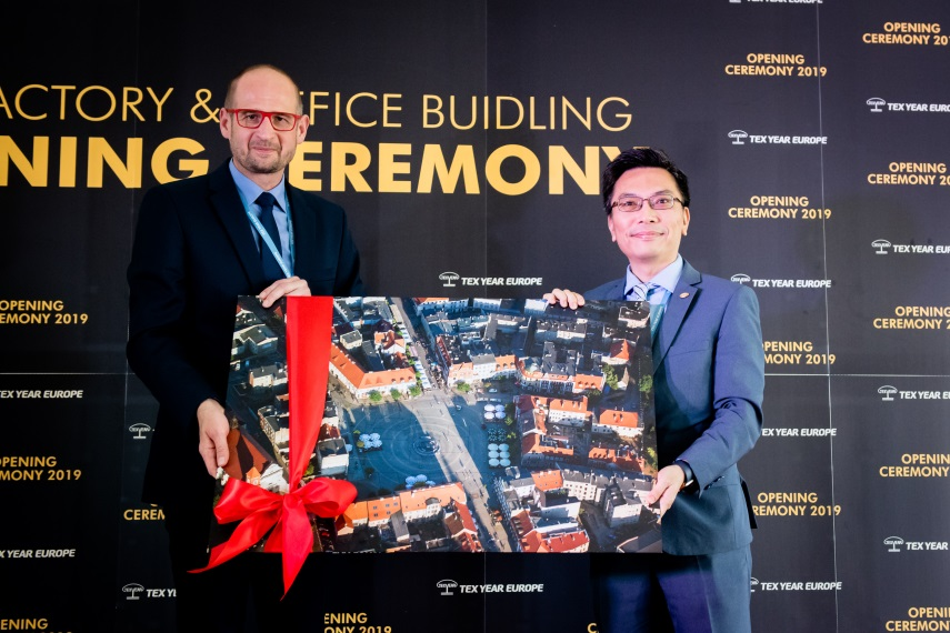 Tex Year Europe new factory & office building opening ceremony