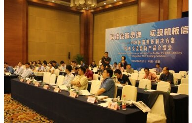 Tex Year Works with Strategic Partners on Chengdu Conformal Coating Seminar & Nepcon Show