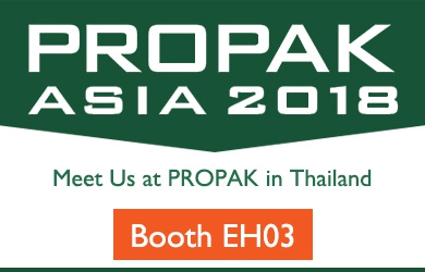 Meet Tex Year at 2018 PROPAK ASIA