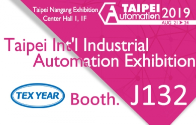 Meet Tex Year at Automation Taipei 2019