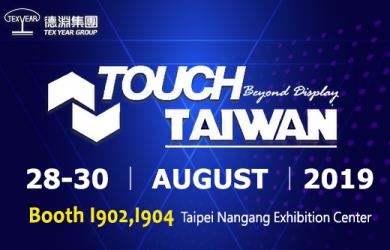 Meet Tex Year at Touch Taiwan 2019
