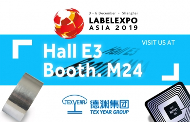 Meet Tex Year at 2019 Label Expo Asia